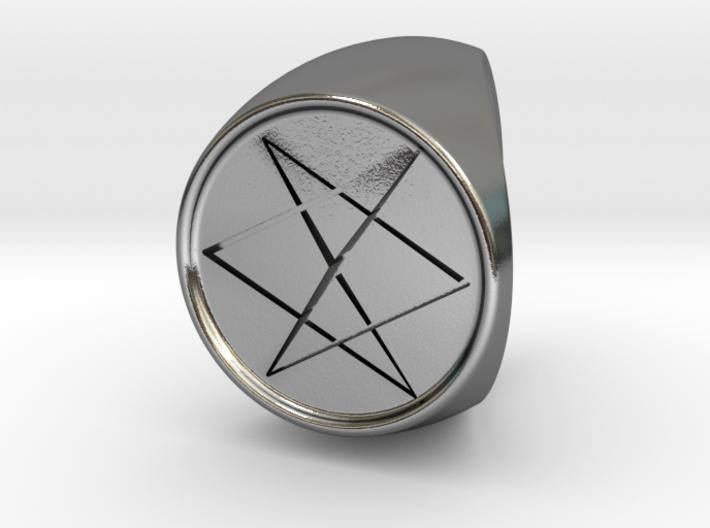 Custom Signet Ring 10 3d printed