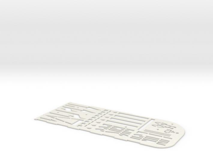 Road marking template BNL (H0 1:87) 3d printed