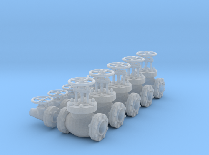 1/18 SCALE FIRE VALVES 3d printed