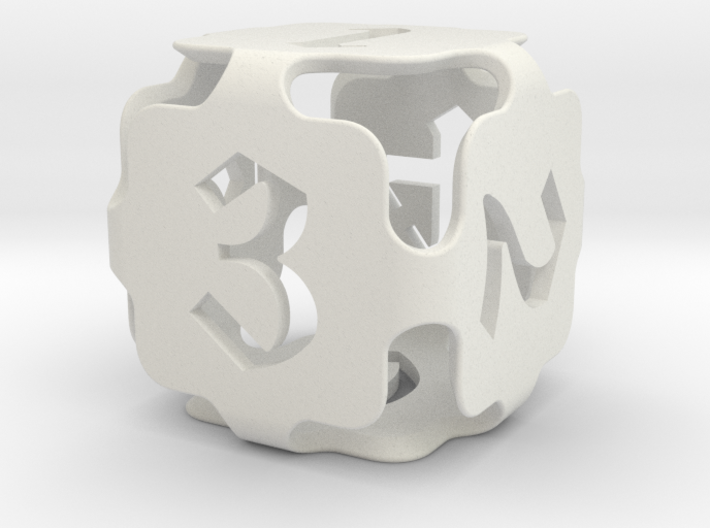Big die 6 / d6 24mm / dice set 3d printed