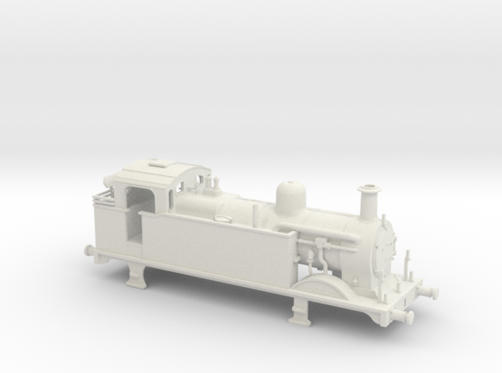 Ex Midland Railway 3F class fitted for condensing 3d printed
