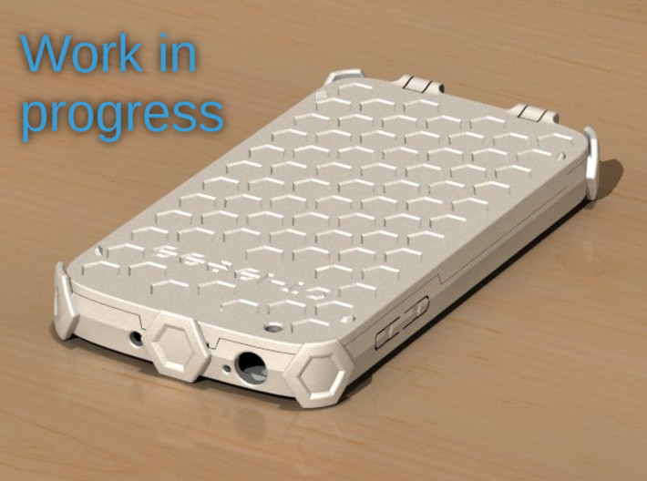 Samsung Galaxy S4 active - i9295 - hard flip case 3d printed