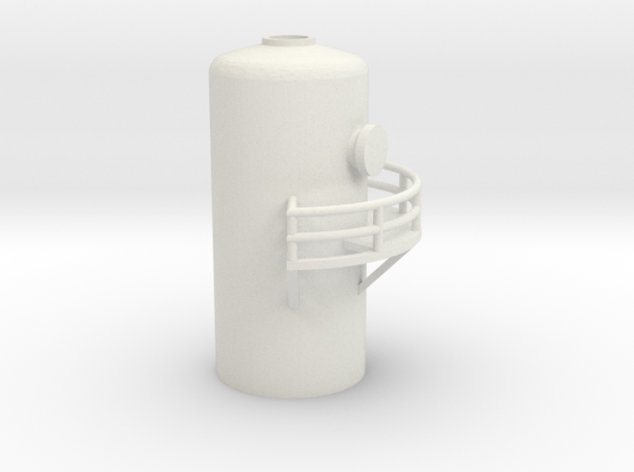 'N Scale' - 10' Distillation Tower - Top 3d printed