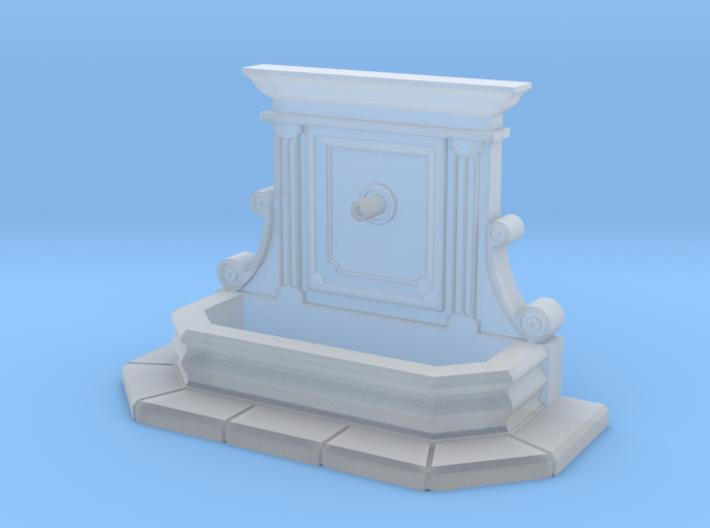 Wall fountain (N 1:160) 3d printed
