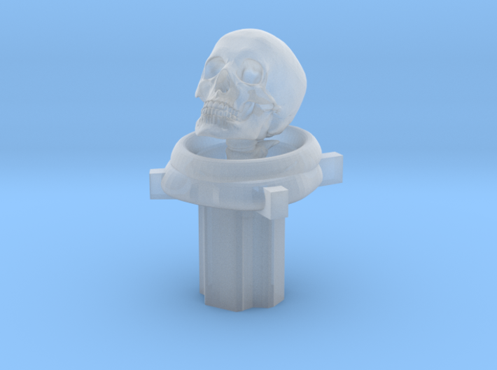 Astronaut/Diver Skull (For Cherry MX Keycap) 3d printed