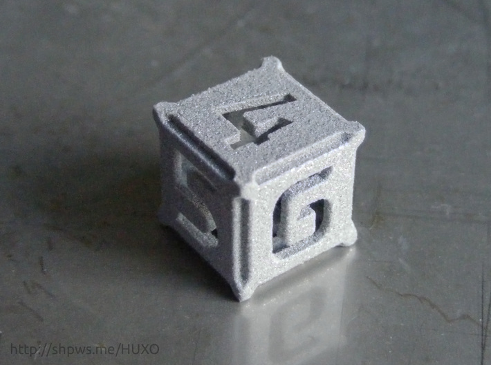 BattleTech Dice - D6 Metal 3d printed