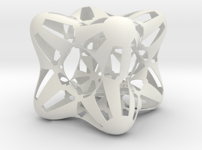 Conformal Chmutov 3d printed