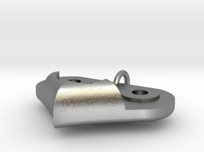 Gear Heart Pendant - Base 3d printed