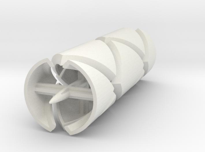 Roller 6 Cylinder 1 3d printed