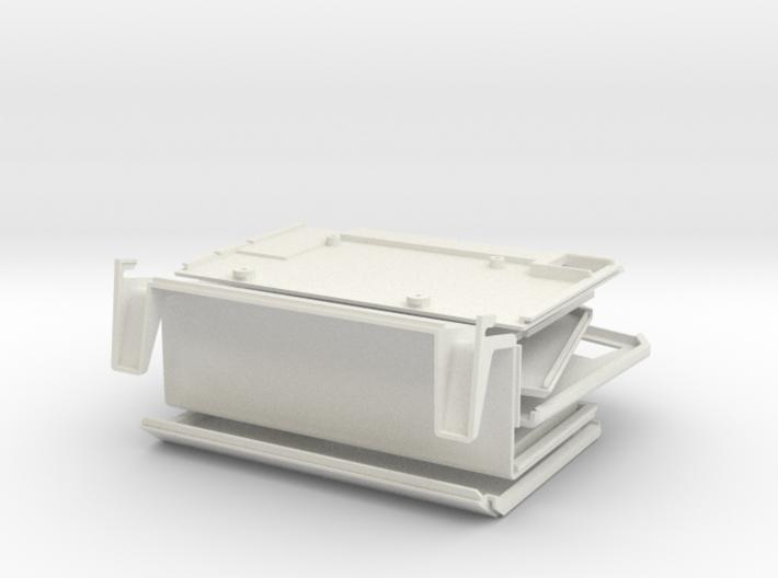 Apple Lisa 2, Macintosh XL Raspberry Pi Case 3d printed