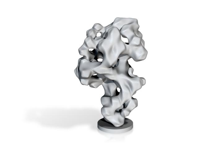 Porcelain Smoke Stone Desktop Decor 3d printed