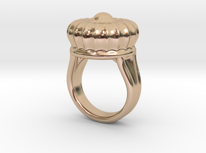 Old Ring 17 - Italian Size 17 3d printed