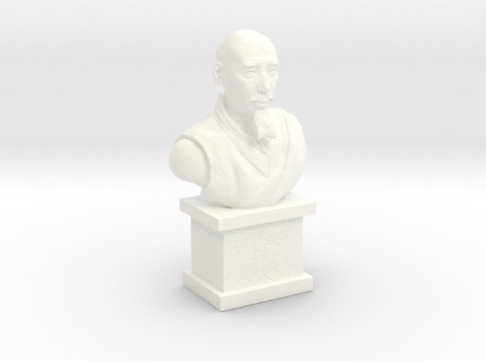 Zong Rinpoche, Mahayana Buddhist Monk 3d printed