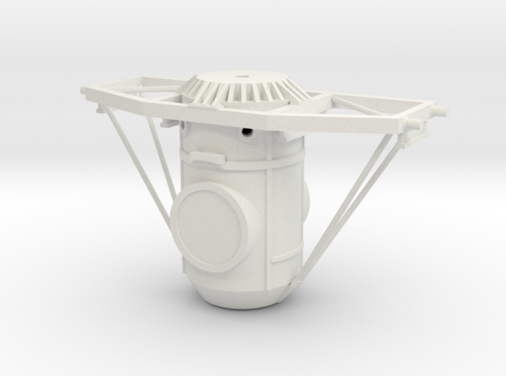 Orbital Docking System Main Body And Frame 3d printed