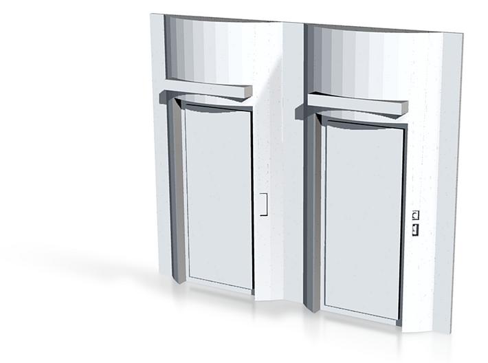 Elevators 3d printed