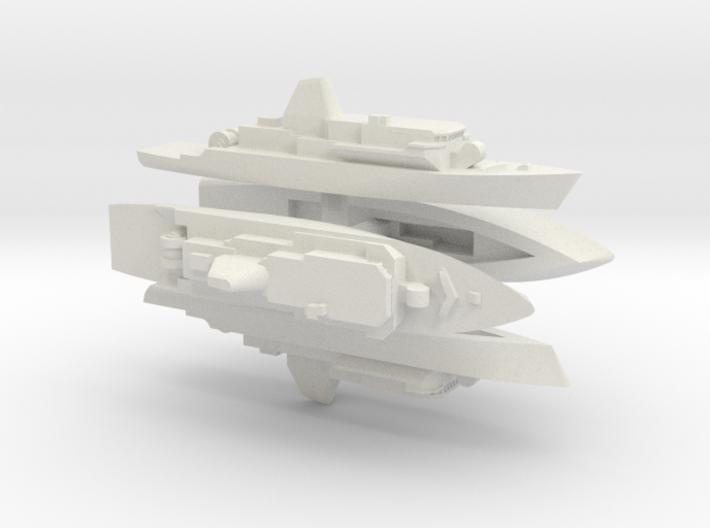 Avenger 1/3000 X4 3d printed