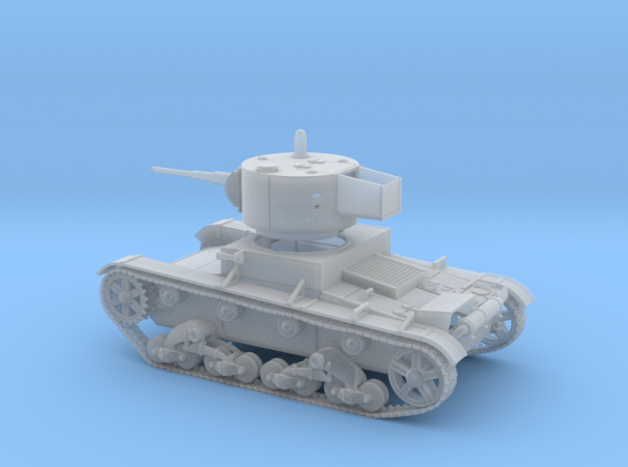 VBS Light tank T26 1933 1:72 3d printed