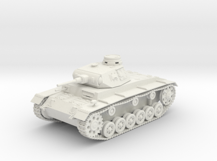 VBA Panzer III (PzKpfw III - SdKfz. 141) ausf.G 3d printed
