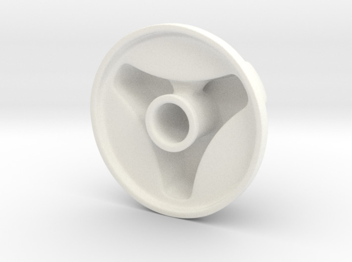 Knob Simple 3-lobe 3d printed