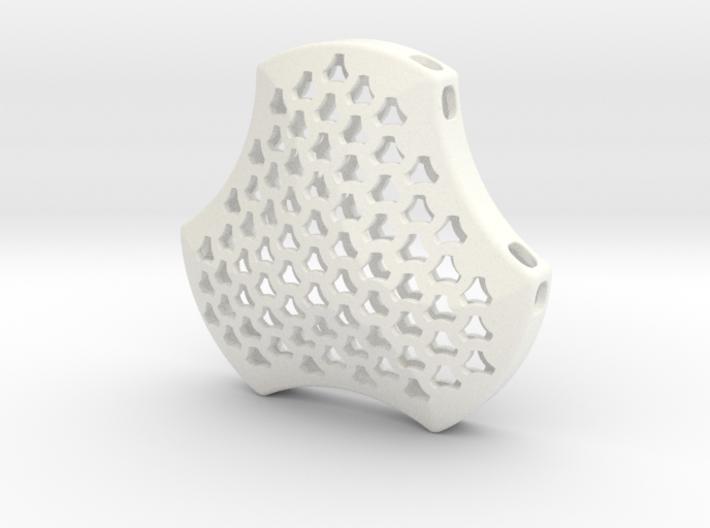 Shield Pendant 40mm 3d printed