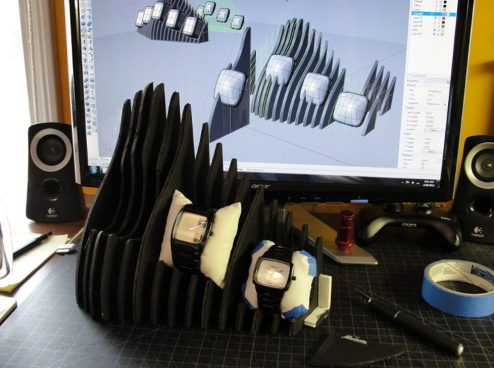 Watch Display 3d printed foam model