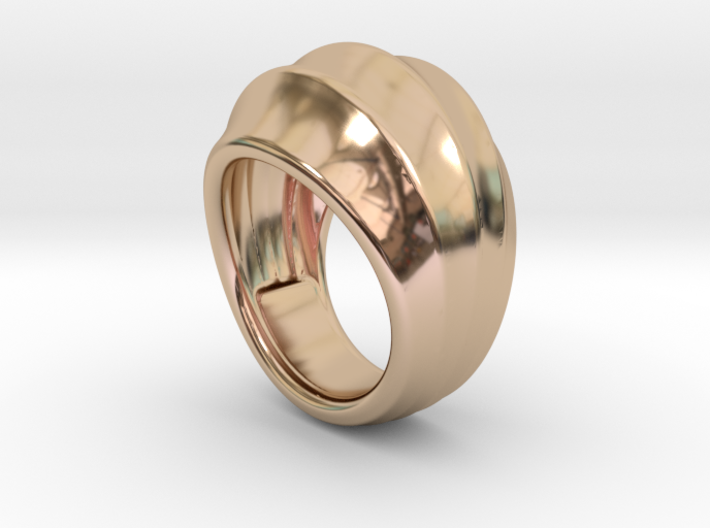 Good Ring 17 - Italian Size 17 3d printed