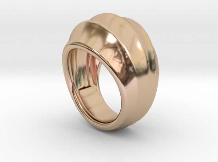 Good Ring 19 - Italian Size 19 3d printed