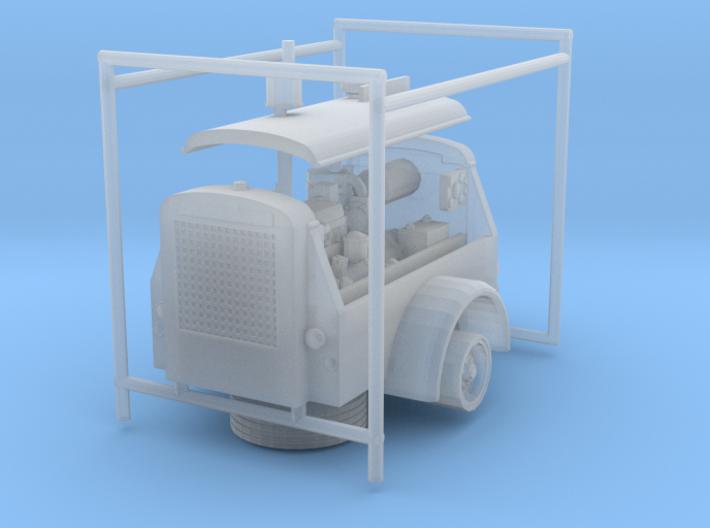 1/87th Ingersoll Rand Air Compressor 3d printed