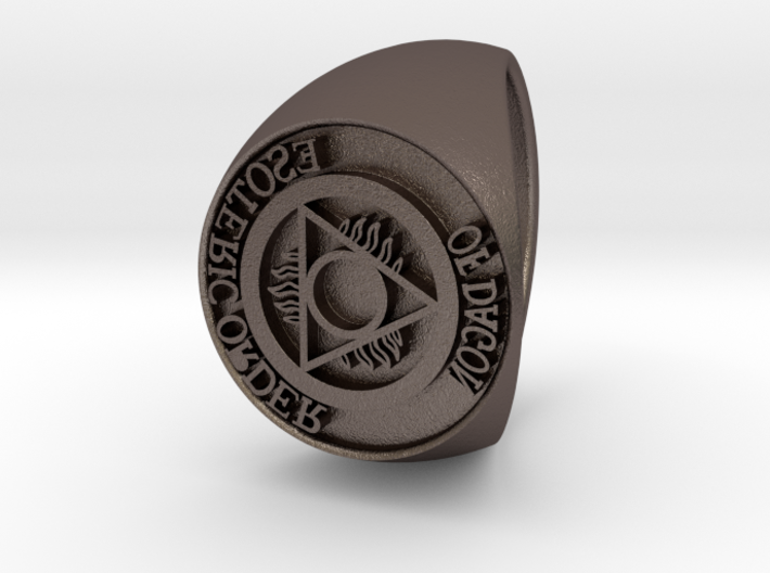 Esoteric Order Of Dagon Signet Ring Size 11 3d printed
