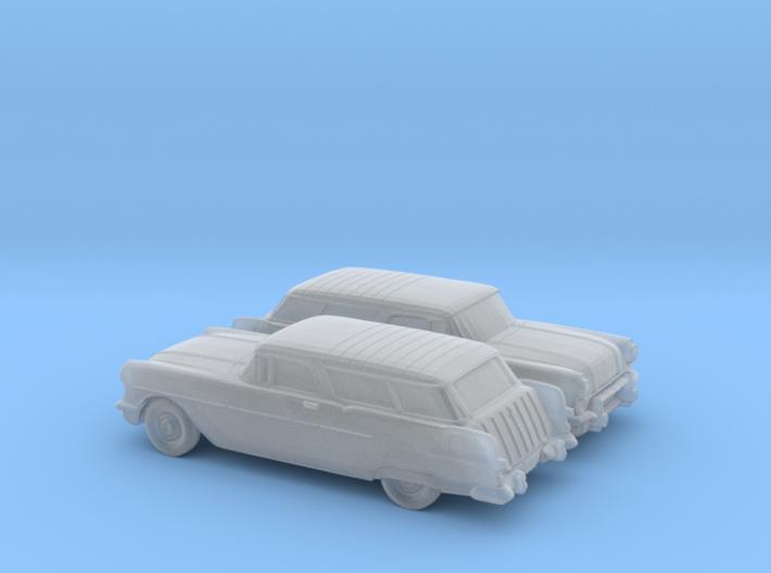 1/160 2X 1957 Pontiac Safari 3d printed