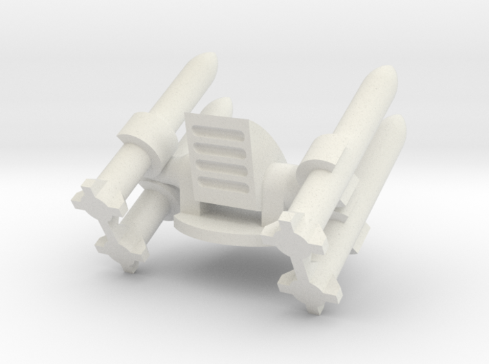 Missile Turret Top 3d printed
