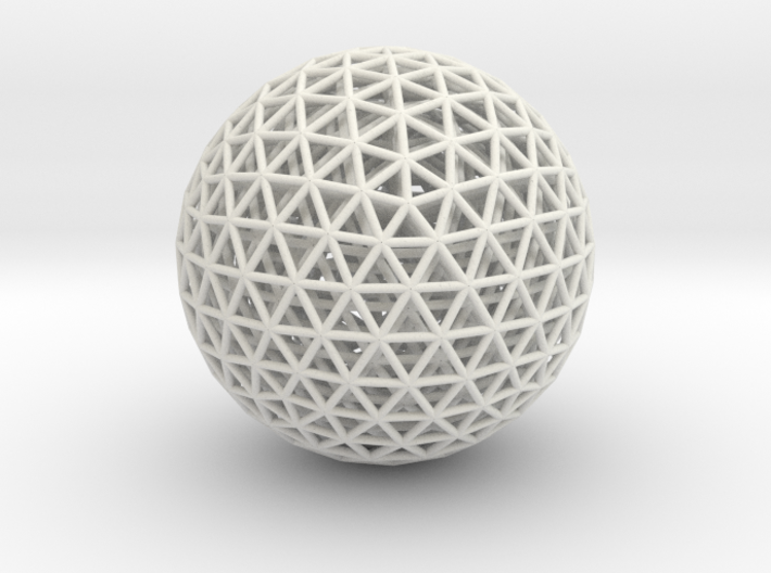 Nested Geodesic 3d printed