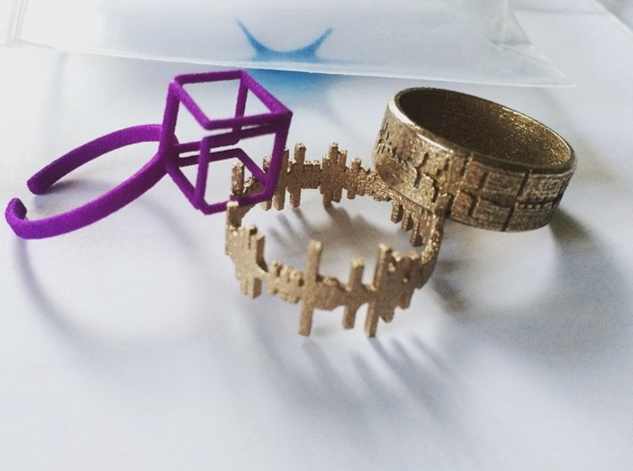 Amen, Sister - Alternative Amen Break Ring 3d printed