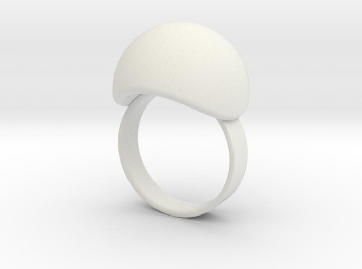 VESICA PISCIS Ring Nº3 3d printed