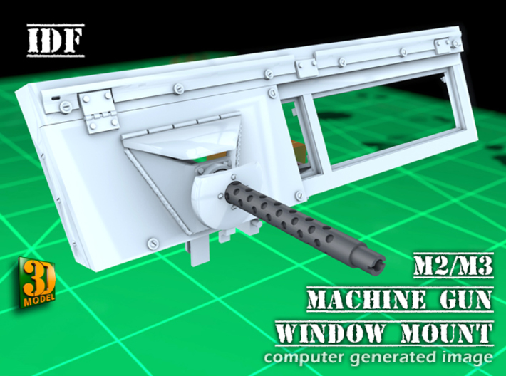 IDF 30cal MG-Window mount (1:35) 3d printed M2/M3 IDF MG window mount