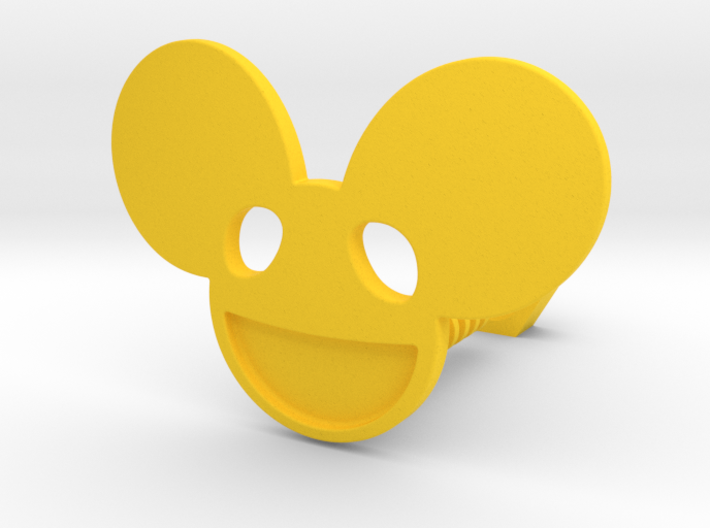 Smilling Mouse 3d printed