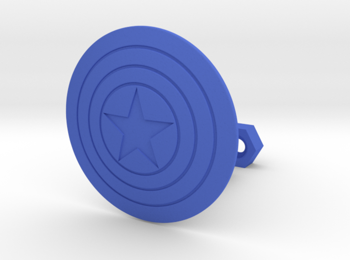 CA Shield 3d printed