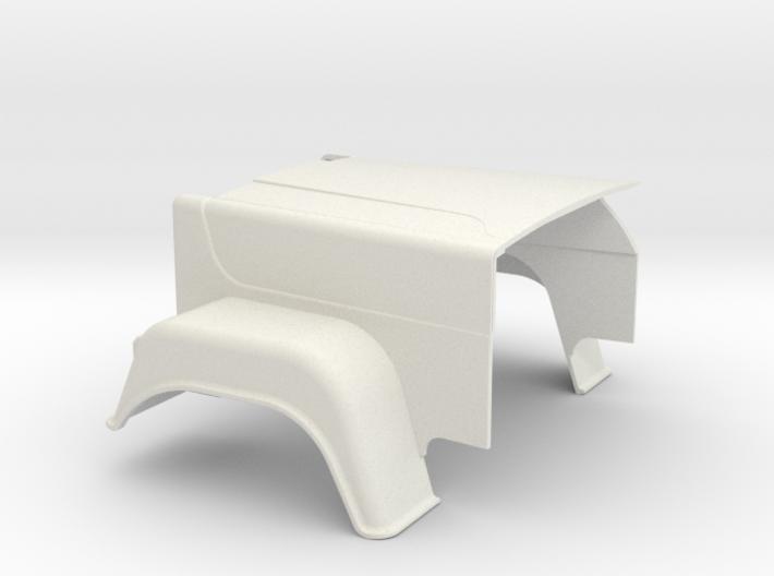 MACK-hood Superliner-1to16 3d printed