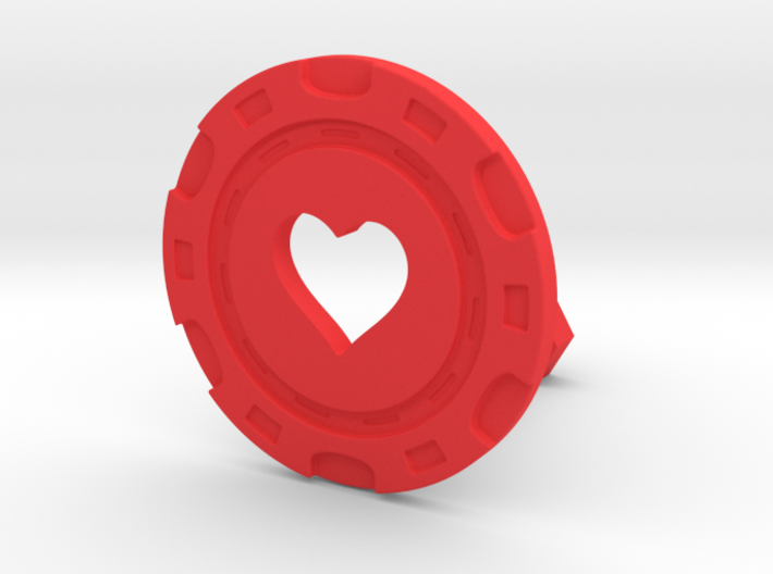Heart chip 3d printed