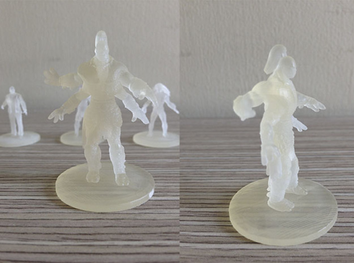 Goro MKX 3d printed Goro Frosted Ultra Detail Shapeways