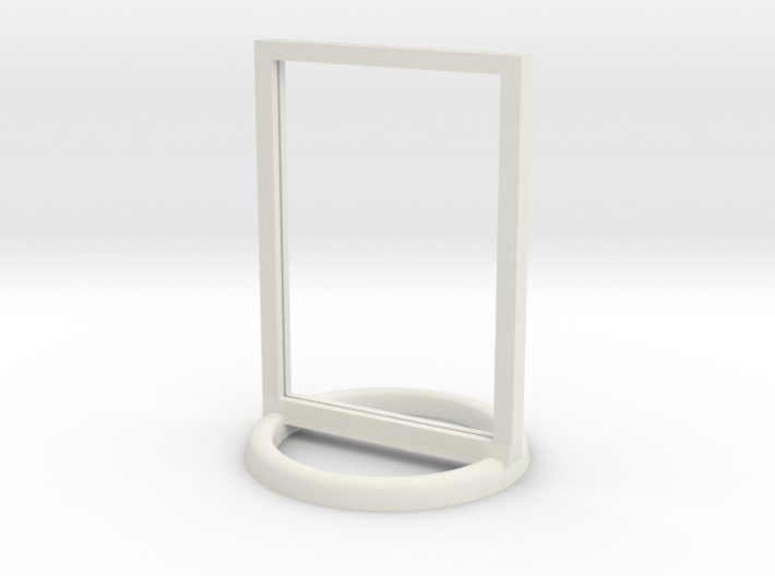 Token Frame Large 3d printed