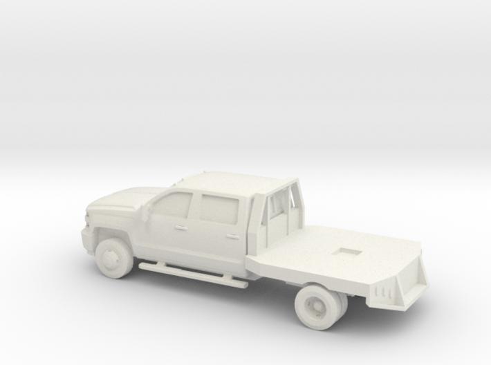 1/87 2015 Chevrolet Silverado Dually 3d printed