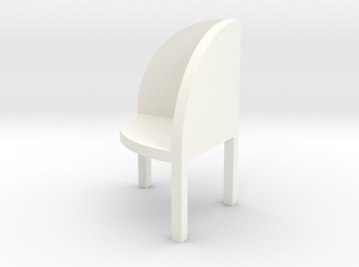 FORGET-ME-NOT ROUND by RJW Elsinga 1:10 3d printed