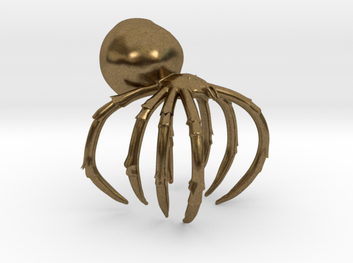 Spider Ring 3d printed