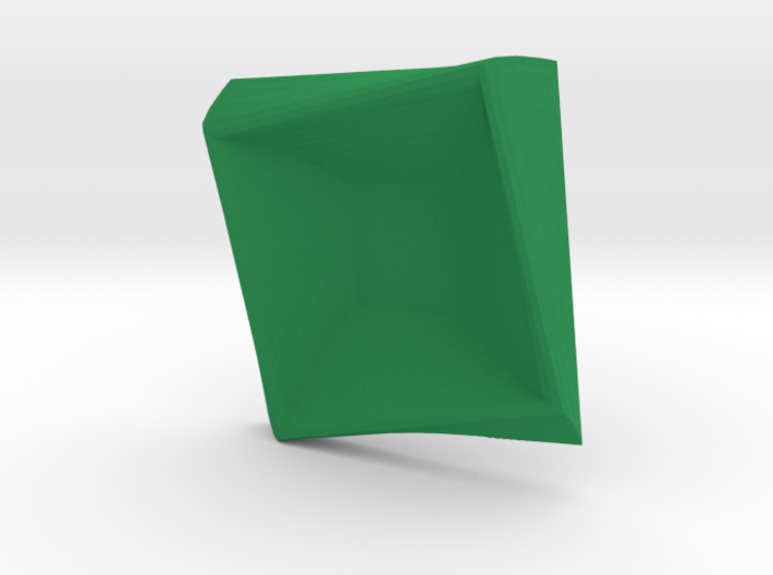 Square plate 3d printed