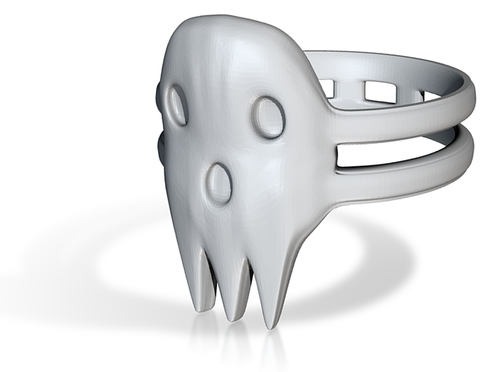 Death The Kid Ring Size 9 3d printed