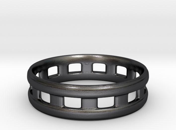 Slotted Ring Size 9 3d printed