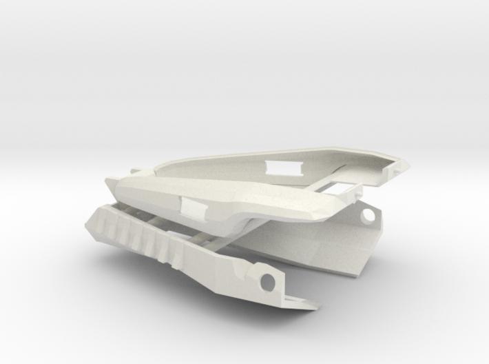 Cabal Interceptor Bumpers 3d printed