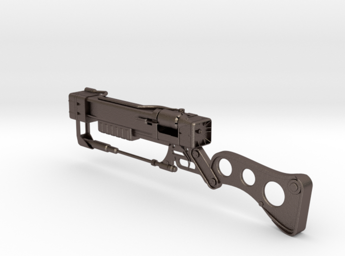 AER12 Laser Rifle (1:5 scale) (Fallout) 3d printed