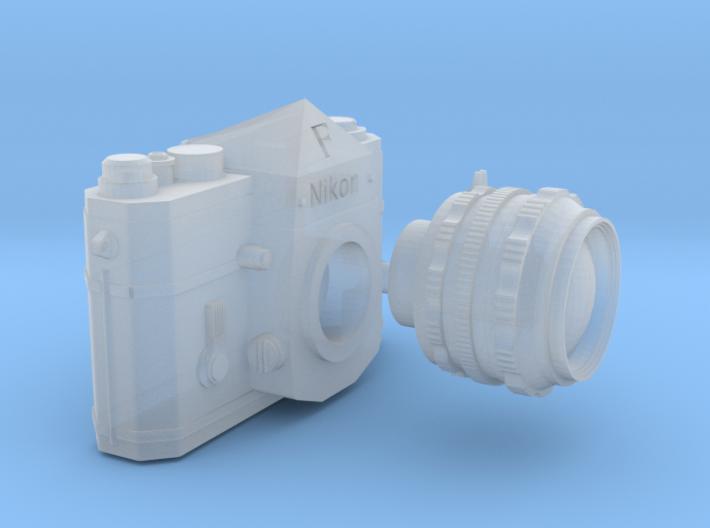 1:6 scale Nikon F Camera 3d printed